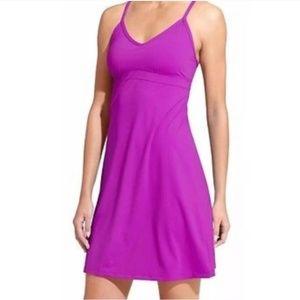 Athleta Shorebreak swim dress in jazzy purple